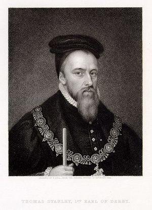 Earl of Derby - Thomas Stanley, 1st Earl of Derby