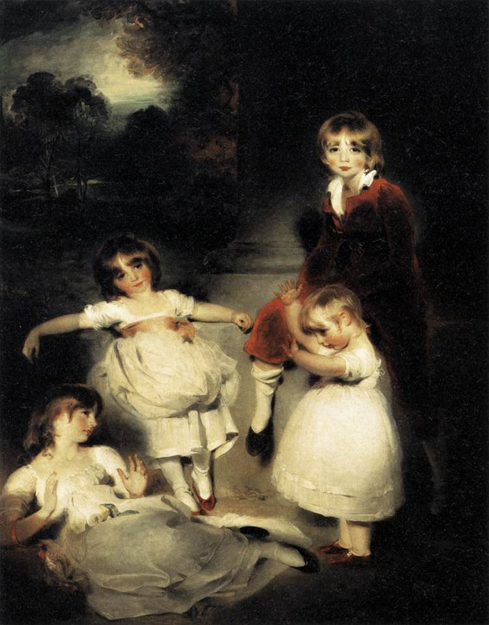 Portrait of the Children of Ayscoghe Boucherett