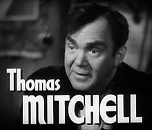 L'actor Thomas Mitchell en 1947 en a cinta High Barbaree.