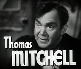 Mitchell in de trailer van High Barbaree (1947)