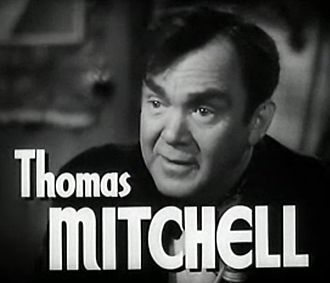 Thomas Mitchell (actor) - from the trailer for High Barbaree (1947)