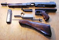 Thompson SMG Model M1928A1, field stripped for cleaning