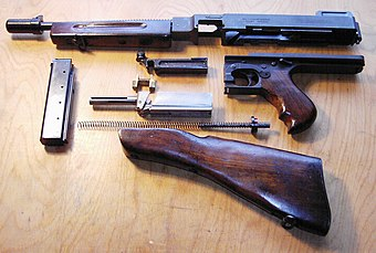 Thompson submachine gun   Military Wiki   FANDOM powered by Wikia