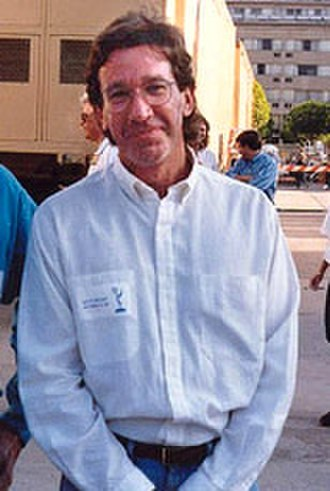Toy Story 2 - Image: Tim Allen at 1993 Emmy Rehearsals cropped