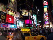 Times Square en abril de 2005