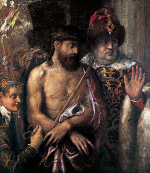 Ecce Homo (Bosch, 1470s) - Image: Titian Christ Shown to the People (Ecce Homo)