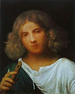 <i>Shepherd with a Flute</i>