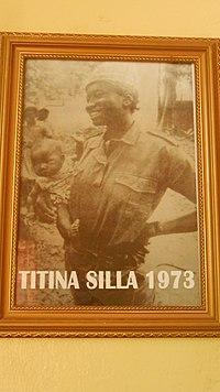 Titina Silá no Museu Militar da Luta de Libertação Nacional.jpg