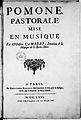 Title page of score of 'Pomone' by Cambert - C Ballard 1671 - Gallica.jpg