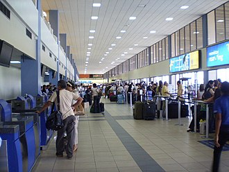 Tocumen International Airport - Check-in hall
