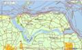 Topografische kaart Noord Beveland.png