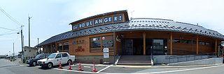 Torahime Station railway station in Nagahama, Shiga prefecture, Japan