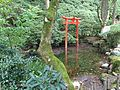 Torii of Benzaiten Shrine in Chigirien Garden in Daikozenji Temple 2.JPG