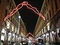Torino, via roma di notte.JPG