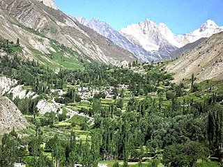 Tormik Valley Place in Gilgit-Baltistan, Pakistan