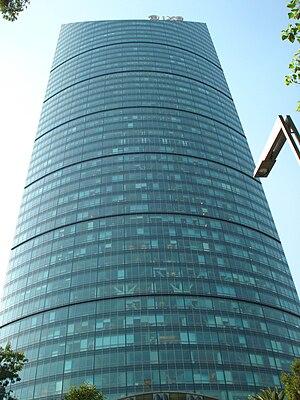 Torre mayor desde paseo reforma 2v