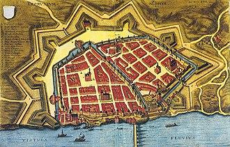 Toruń - Toruń in 1641