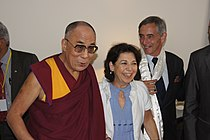 Touluse 2 Rencontre des parlementaires avec sa sainteté le Dalaï Lama à Toulouse le 15 août 2011.jpg