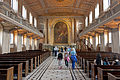 Tourists in chapel at Greenwich Hospital, London.jpg