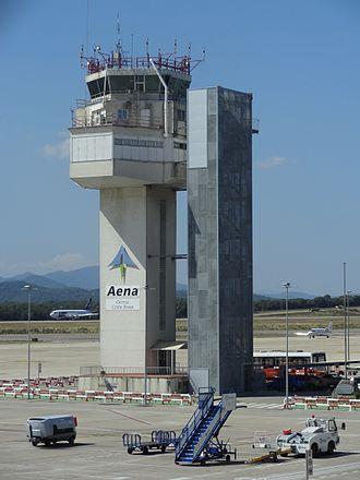 Girona–Costa Brava Airport - Control tower