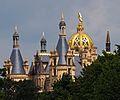 Towers of the Schwerin Castle. Schwerin, Germany.jpg