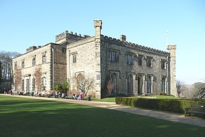 Listed buildings in Burnley - Image: Towneley Hall