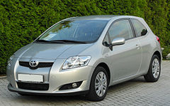 Toyota Auris I przed face liftingiem