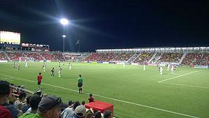 Toyota Field - San Antonio Scorpions night game at Toyota Stadium