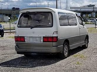 Toyota HiAce - Toyota Granvia