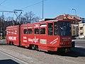 Tram 153 at Linnahall stop Tallinn 16 May 2017.jpg