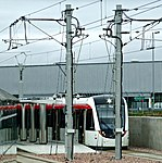 Tram at Edinburgh Airport station (geograph 3676802).jpg