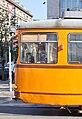 Tram in Sofia near Central mineral bath 2012 PD 016.jpg