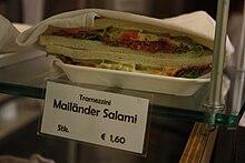 Tramezzini al salame Milano in vendita a Vienna