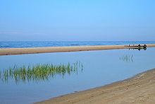 Море в районе мыса
