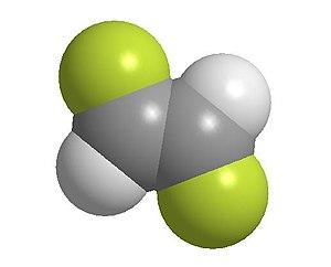 1,2-Difluoroethylene - Image: Trans 1,2 difluoroetheneball