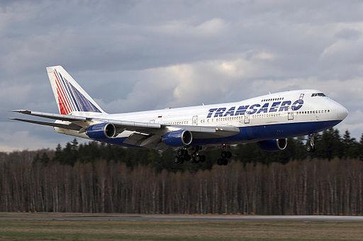 Transaero Boeing 747-200
