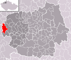 Location of Třebívlice