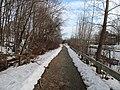 Tri-Community Greenway near SCMS, March 2014.JPG