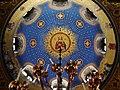 Trieste Tempio serbo-ortodosse della Santissima Trinità e di San Spiridone Innen Cupola 4.jpg