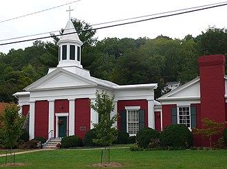 Buchanan, Virginia - Trinity Episcopal Church in Buchanan, Virginia (1842)