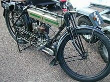 Uno dei primi modelli Triumph