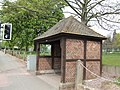 Tudor style bus shelter, Upper Green, Tettenhall - geograph.org.uk - 411536.jpg