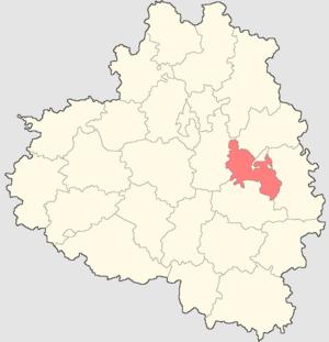 Uzlovsky District - Image: Tulskaya oblast Uzlovsky rayon
