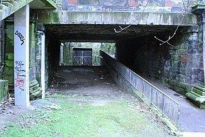 Glasgow Central Railway - Image: Tunnel to Stobcross from Kelvinbridge (2)