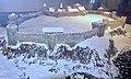 Tunsberghus Fortress (festning) on Slottsfjellet (Mikkelsberget) in Tønsberg ca. 1000 – 1503. Model by Andreas Hauge, The Armed Forces Museum of Norway (Forsvarsmuseet) at Akershus Fortress, Oslo, Norway. Photo 2019-03-31 E.jpg