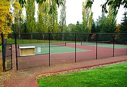 Turner Creek Park tennis courts.JPG