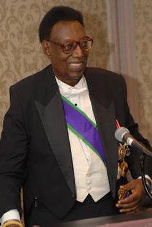 Kigeli V of Rwanda - Kigeli V in exile in Washington D.C., United States