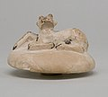 Two Handled Jar and Lid decorated with a Resting Calf MET 22.2.32b front.jpg