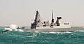 Type 45 Destroyer HMS Daring in Heavy Seas MOD 45153837.jpg