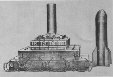 Type 98 320 mm mortar schema